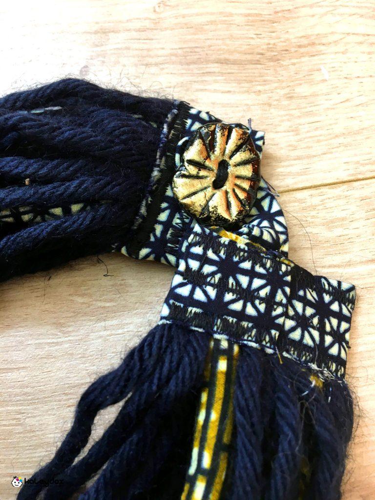 scaldacollo in lana merinos e african wax