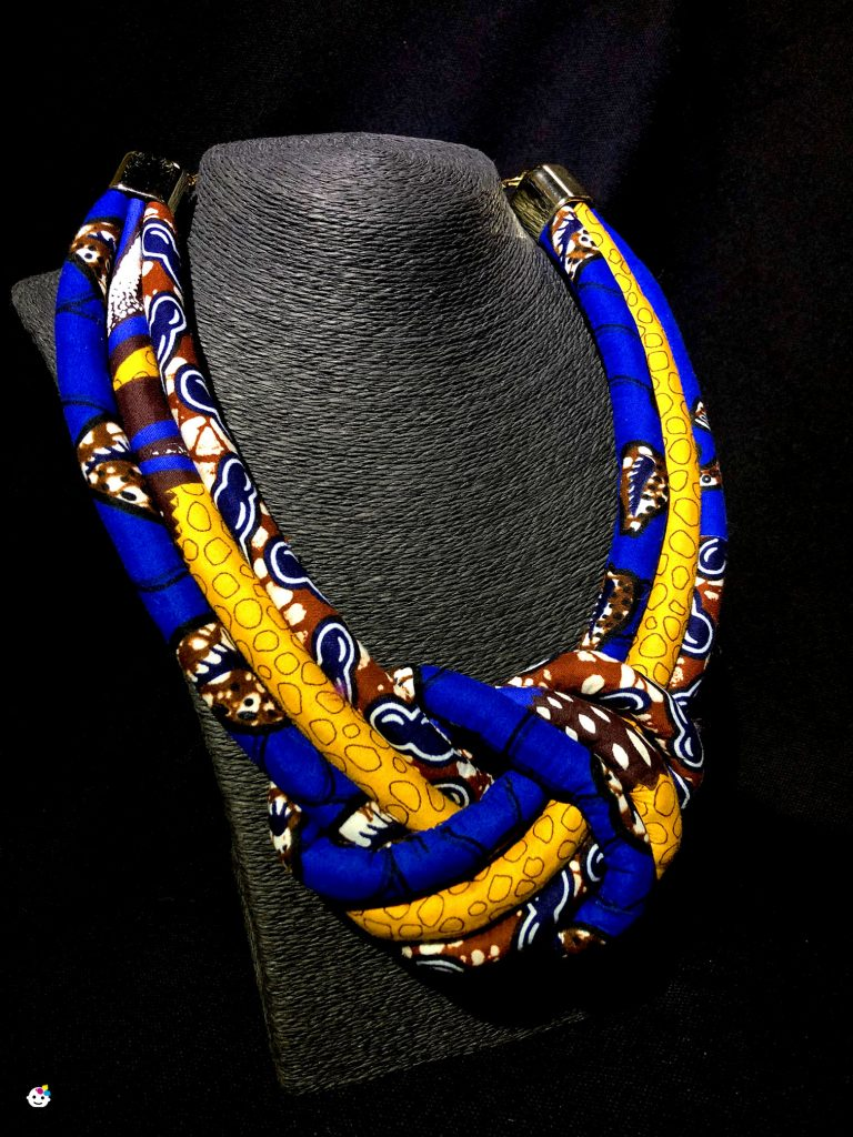 collana in african wax