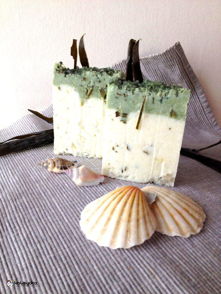 Sapone artigianale alle alghe