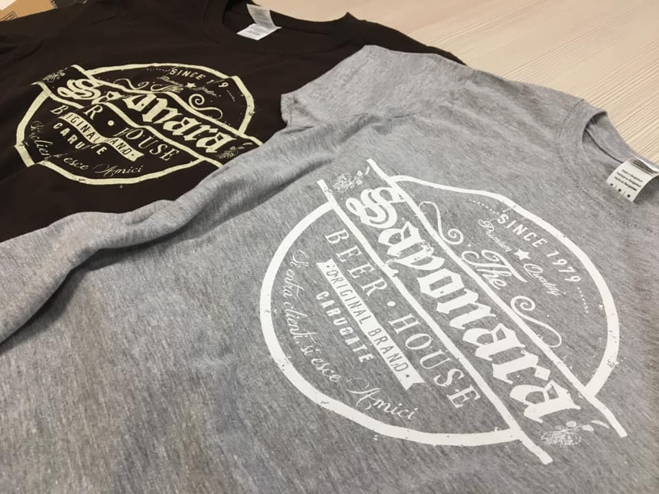 t-shirt evento locale