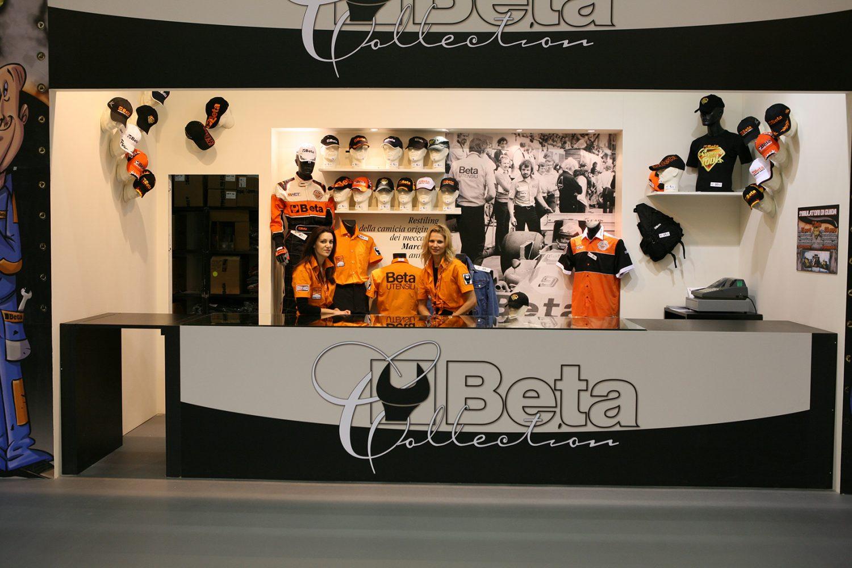 Beta Utensili decorazione stand fiera Motorshow