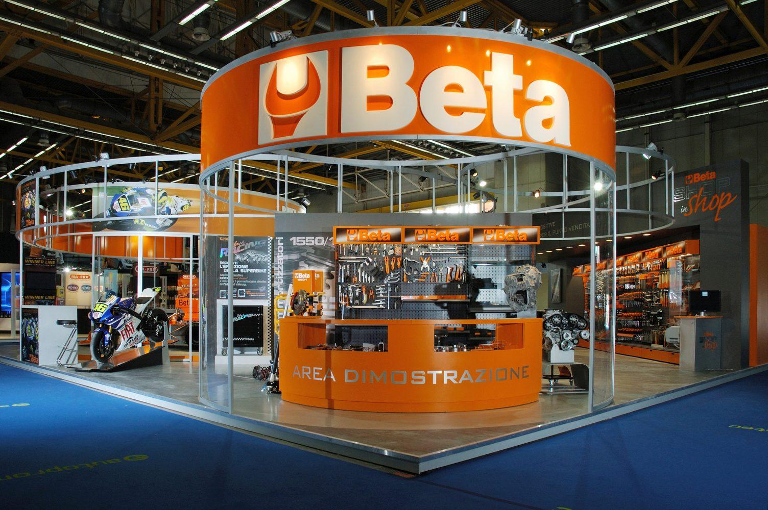 Beta Utensili decorazione stand fiera Autopromotec