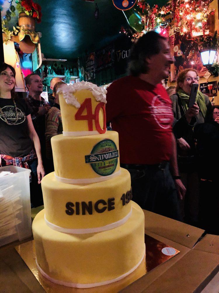 Party anniversario locale