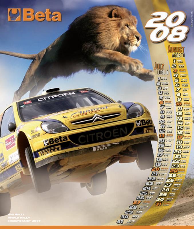 Calendario Beta Utensili 2008